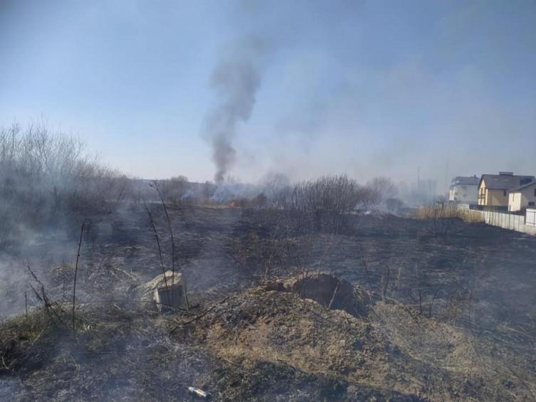 В Виннице возле Вишенского озера произошел масштабный пожар (фото), фото-6