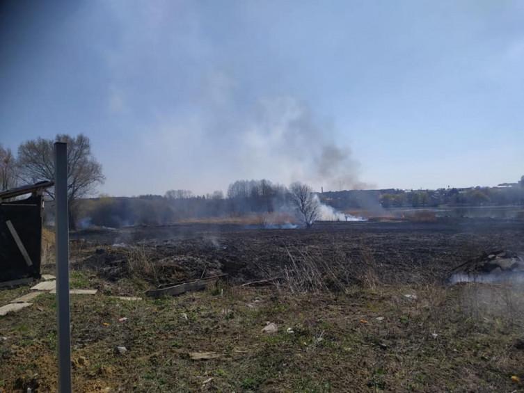 В Виннице возле Вишенского озера произошел масштабный пожар (фото), фото-10