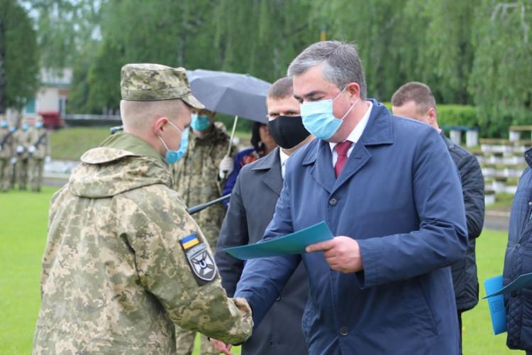 В Гайсин с востока Украины вернулись бойцы мотопехотной бригады (фото), фото-8