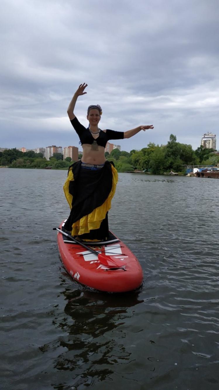Наталя Курилова на САП борді