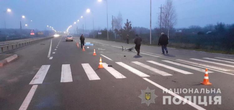 В Калиновке на объездной дороге машина насмерть сбила велосипедиста (фото), фото-1