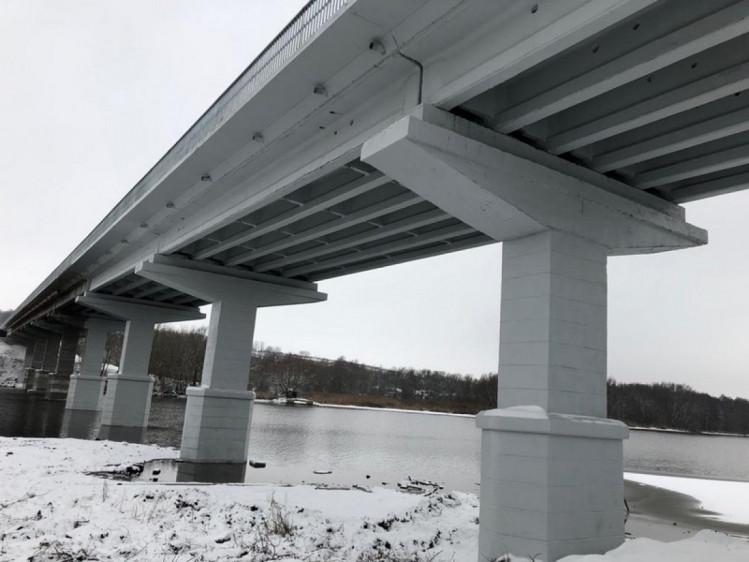 На Винниччине завершился капитальный ремонт самого длинного моста через реку (фото), фото-5
