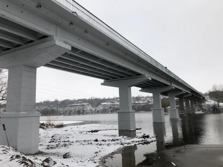 На Винниччине завершился капитальный ремонт самого длинного моста через реку (фото), фото-6