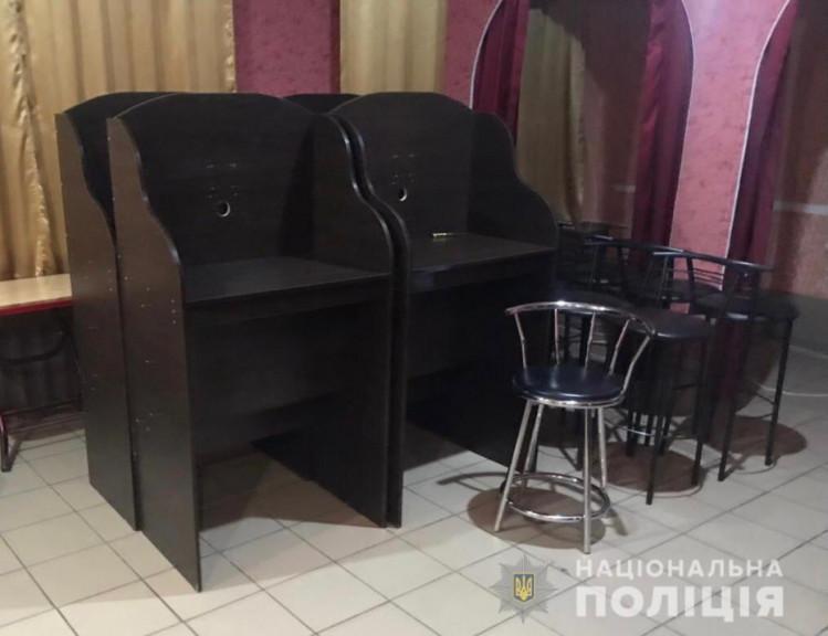"""В Немирове в бывшем кафе полиция """"накрыла"""" подпольное игорное заведение, фото-4"""