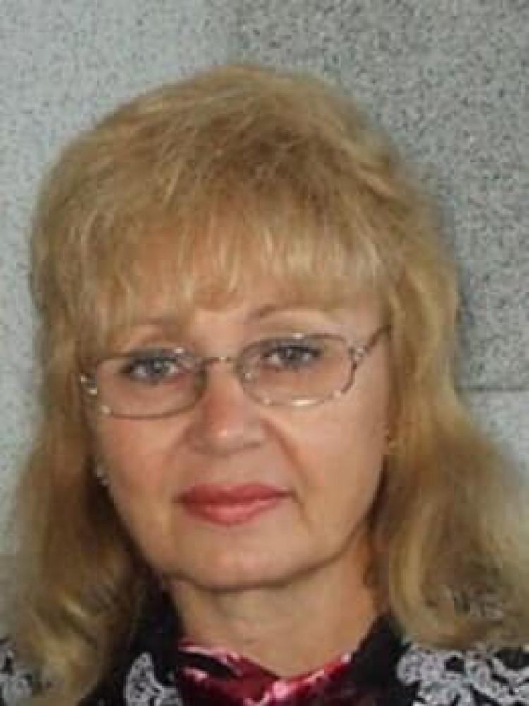 Заслужений працівник освіти Петрук Віра Андріївна